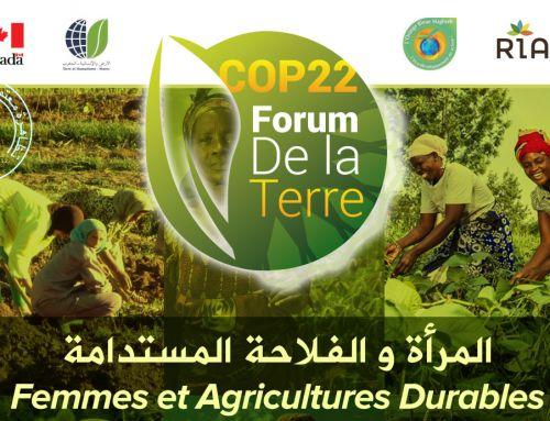 COP22- 1er Forum de la Terre au CIPA