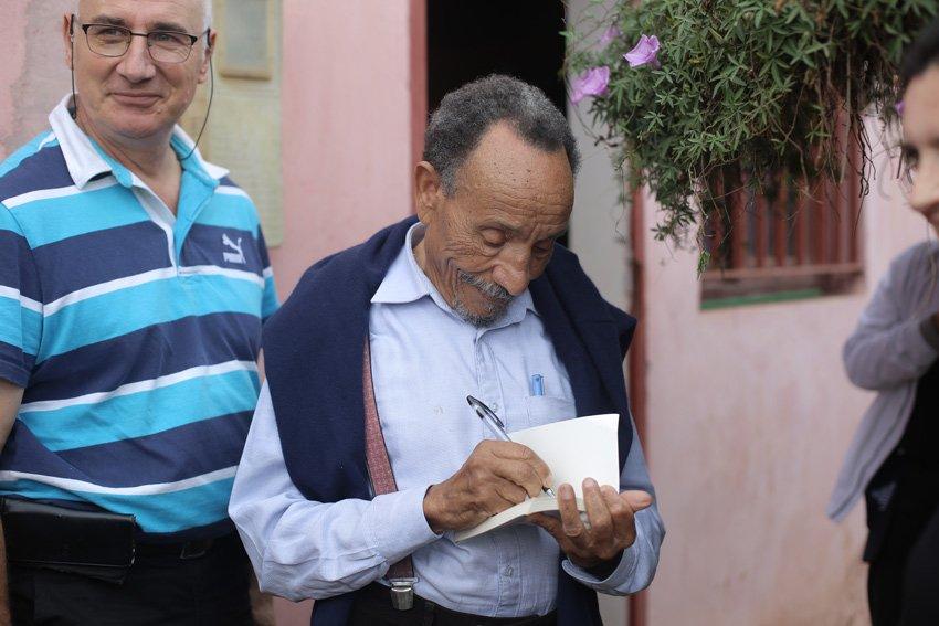 Visite Pierre Rabhi 2016 ferme darbouazza